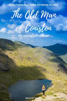 If youre looking for a beautiful walk in the Lake District then head for the Old Man of Coniston. Its one of the higher fells in the area and the sweeping views are magnificent. Here is everything you need to know about hiking the Old Man of Coniston. Hiking Routes, Hiking Trails, Europe Travel Tips, Travel Guides, Hiking Europe, Travel Goals, Lake District Walks, Peak District, Uk Destinations