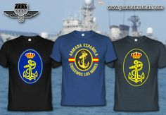 Armada Española. Camisetas Militares. www.paracamisetas.com