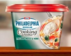 Chicken Pasta With Philadelphia Cooking Creme Recipe I actually posted this recipe a long time ago but it is easy, cost-effective, and family-friendly so I