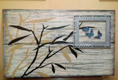Decoupage, Frame, Home Decor, The Creation, Picture Frame, Frames, A Frame, Home Interior Design, Decoration Home