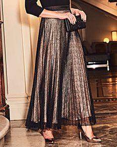 Joanna Hope Lace Maxi Skirt