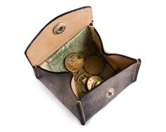 Men's Coin Purse Women's Change Purse Coin Case Coin by CLWorkshop
