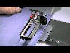 ▶ 4/10 BERNINA 710 and 750 QE: how to sew buttonholes and how to sew on buttons - YouTube