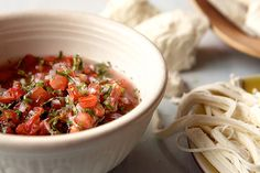 Find the recipe for Pico de Gallo: Fresh Tomato Salsa  and other lime juice recipes at Epicurious.com