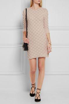 See by Chloé | Mini-robe en coton au crochet | NET-A-PORTER.COM