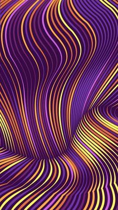 Colorful Wallpaper, Cool Wallpaper, Phone Wallpapers, Wallpaper Backgrounds, Amazing Backgrounds, Line Art, Wave, Art Ideas, Pastel