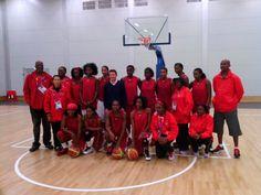 Angola's Ladies Team...Athletes twitter pix: Seb Coe