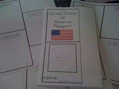 LAWTEEDAH: 50 States Social Study Unit