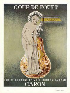 Caron (Perfumes) 1957 Coup de Fouet