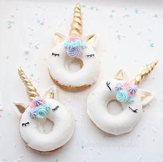 UNICORN DONUTS.....via the amazing @christinascupcakes  . . . . . . . . #unicorn #donuts #rainbow #love #cute #food #foodporn #sweet #sweets #dessert #foodart #cake #diy #flashesofdelight #children #christmas #childhood #craft #baking #tutorial #events #instashop #littlebooteekau