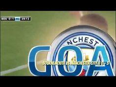 Bournemouth Vs Manchester City || 0-2