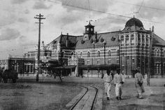Busan Train Station 일제강점기 부산역사. 우리나라 옛날 옛적 풍경 사진들