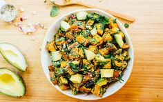 Roasted Sweet Potato Salad | Recipe http://ift.tt/2uJ3pet Upgrade traditional potato salad by using sweet potatoes in this recipe fromEating Bird Food. The natural sweetness from roasted orange spuds gets highlighted by a zesty lemon vinaigrette. Bring this colorful potato salad to your next summer potluck or barbecue. Print Roasted Sweet Potato Salad Ingredients 10 cups sweet potatoes (about 3 large) chopped into bite-size chunks 1 tablespoon coconut oil melted 1 1/2 teaspoon sea salt…