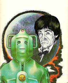 Chris Achilleos - Doctor Who and the Cybermen, 1976.
