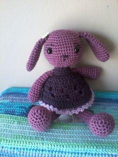 Crochet bunny. So cute!