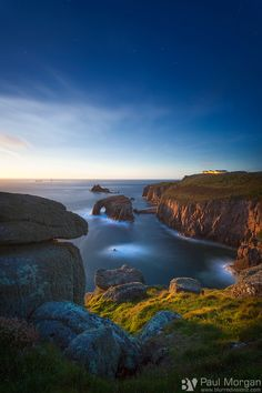 Cornwall Seascape by Paul Morgan