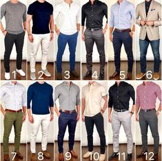 Mens fashion - Summer ☀️😎 is almost over and it's time to start thinking about Fall 🍃🍂 and Winter ❄️ styles❗️ Which was your favorite outfit from the last month❓🤔 I have tons of awesome n Formal Men Outfit, Semi Formal Outfits, Mode Man, Man Dressing Style, Neue Outfits, Herren Outfit, Winter Stil, Men Style Tips, Style Men