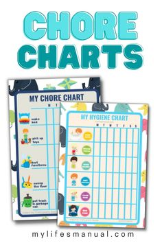 Pretty Chore printables will make it more fun and enjoyable for kids to do chores because they will be able to keep track of their progress on their own. Age Appropriate Chores, Chore Chart Kids, Chore List, Charts For Kids, Printables, Print Templates