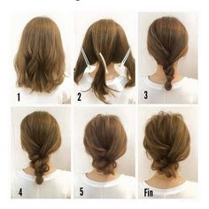 """38 Likes, 2 Comments - Creative Layers Hair (@creativelayershair) on Instagram: """"Easy #updo for #shorthair #hairstyles #hairideas #weddinghair #bridalhair #hair #brides #promhair…"""""""