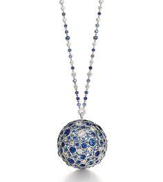Le collier disco Masterpieces en saphirs de Tiffany & Co.