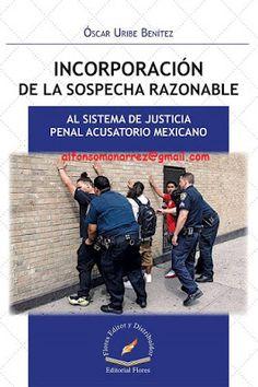 LIBROS EN DERECHO: INCORPORACIÓN DE LA SOSPECHA RAZONABLE AL SISTEMA ...