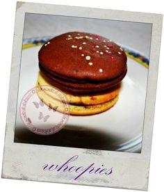 whoopies con marmellata e nutella