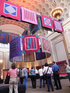 Lancaster Quilt and Textile Museum- antique Amish Quilts from the former Esprit Collection