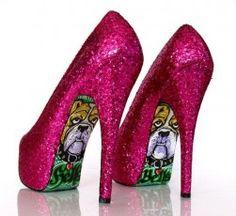 Sapatos de salto alto Taylor Reeve. 2011. extravagância-e-luxo