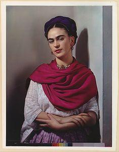 Frida Kahlo by Nicholas Murray