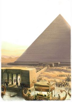 Pharaoh Funeral by MiguelRegodon