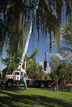 Industrial Revelations: Boise World Trade Center Memorial--Sculpture Install