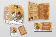 Identité visuelle réalisée pour les 28e journées de la BD de Rouans 2015 : www.journeesbd.fr  Illustration : Hermann - Photographie : Damien Bossis