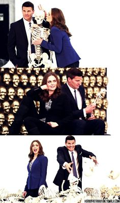 David Boreanaz & Emily Deschanel | Bones