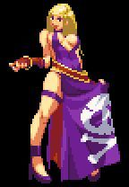 A pixel art hobbyist's guide to creating game sprites in the style of Capcom's 'Street Fighter' series using quick and easy shortcuts Pixel Art Gif, Anime Pixel Art, Art Anime, Pixel Characters, Female Characters, Funny Cartoon Photos, Pixel Life, Character Art, Character Design