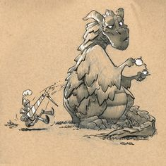 Sweet Dragons by Brian Kesinger