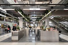 Universal Design Studio transforms Canberra's retail landscape by invoking its heritage - News - Frameweb Retail Signage, Retail Fixtures, Lobby Design, Retail Interior, Shop Front Design, Commercial Design, Urban Landscape, Retail Design, Design Process