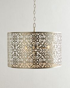 Lisette 3-Light Drum Pendant at Neiman Marcus.