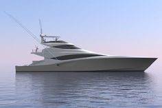 The seductive shapes and perfect proportions of the Bakewell-White 335 refine the sport-fishing convertible& looks. Yacht Design, Boat Design, Speed Boats, Power Boats, Prestige Yachts, Viking Yachts, Sport Fishing Boats, Yacht Interior, Whitewater Kayaking