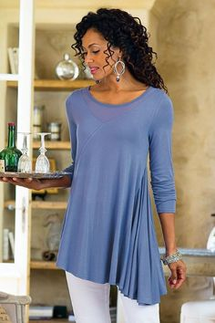 26654 Not available any more :( Soft Surroundings Always Flattering Top
