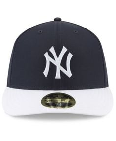 2ed41fa45db6f New Era New York Yankees Low Profile Batting Practice Pro Lite 59FIFTY  Fitted Cap - Navy
