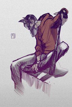 Stiles from Teen Wolf     feral!Stiles is my favorite Stiles.