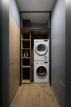 perfect laundry room designs ideas for small space 4 ~ mantulgan.me : perfect laundry room designs ideas for small space 4 ~ mantulgan. Bathroom Interior, Interior Design Living Room, Living Room Designs, Küchen Design, Design Case, House Design, Small Laundry Rooms, Laundry Room Organization, Laundy Room