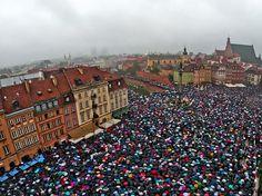 Black Monday: Polish women strike against abortion ban