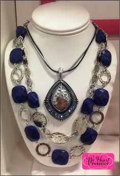 Good To Go and Santorini necklaces combo.  View my online catalog here:  http://bedazzledbydeb.mypremierdesigns.com