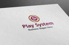 Check out Play System Style Logo by BDThemes Ltd on Creative Market