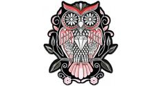 Sugar Owl PATCH   Ladies Patches -TheCheapPlace