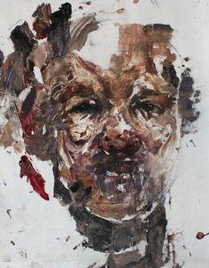 Large Scale Dark Portraits By Daniel Martin