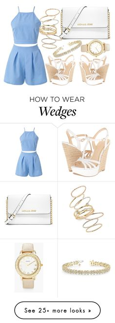 """""""Untitled #2471"""" by claudcsilva on Polyvore featuring Jessica Simpson, MICHAEL Michael Kors, Chico's, Allurez and BP."""