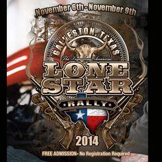 Lone Star Rally - 2014 Galveston Bike Rally  http://www.lightningcustoms.com/galvestonbikerally.html  Ride Safe,  Steve  LightningCustoms.com -Calendar of Biker Rallies - http://www.lightningcustoms.com/  #2014LoneStarRally #LoneStarRally #BikerRallies #LightningCustoms