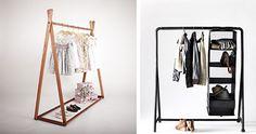 Τα ρούχα που έχουμε ήδη φορέσει δεν ξαναμπαίνουν στην ντουλάπα, μαζί με τα καθαρά. Δείτε, λοιπόν, πώς μπορείτε να τα τακτοποιείτε όμορφα και... με στιλ, σε πρωτότυπες αυτοσχέδιες κρεμάστρες! Wardrobe Rack, Furniture, Home Decor, Decoration Home, Room Decor, Home Furnishings, Home Interior Design, Home Decoration, Interior Design